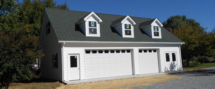 Country builders inc custom design pole building for Amish built pole barn houses